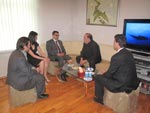 President of Venezuela Red Cross Mr. Mario VILLAROEL officially visited Azerbaijan on 26th of June